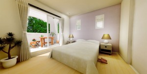 フレンチスタイル寝室