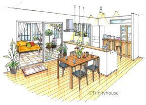 トリニティハウス、キッチン