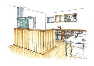 対面キッチン
